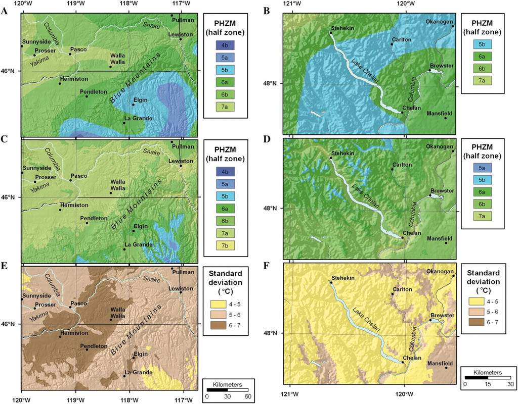 Horticultural Applications Of A Newly Revised Usda Plant Hardiness