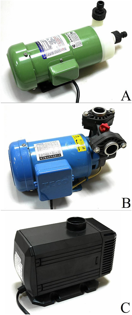 Effects of the Circulation Pump Type and Ultraviolet Sterilization