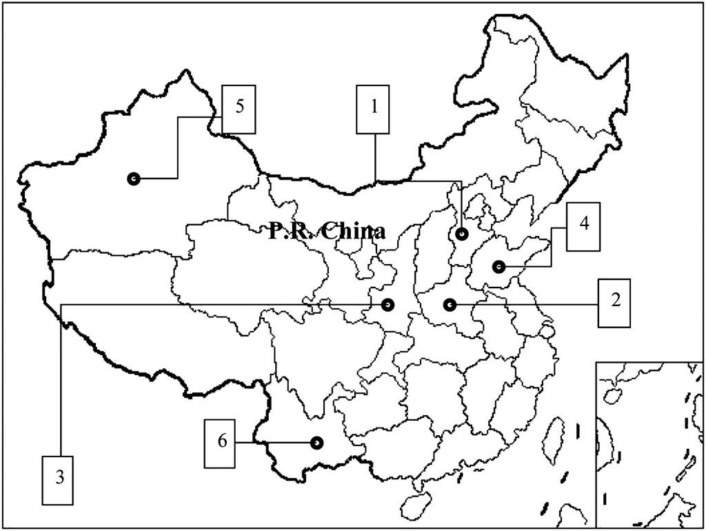 Genetic Analysis of Walnut Cultivars in China Using